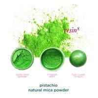 Natural Mica Powder - Pistachio